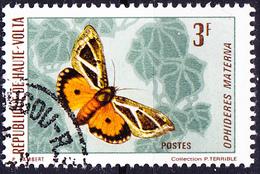 Obervolta Upper Haute - Unterflügelmotte (Ophideres Materna (Mi.Nr.: 337) 1971 - Gest Used Obl - Haute-Volta (1958-1984)