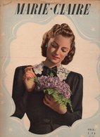 Marie-Claire N°149 Animaux Millionnaires - Une Note Rouge éclaire Votre Robe - Un Nouveau Jeu De L'oie De 1940 - Livres, BD, Revues
