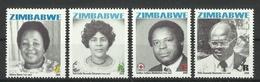 ZIMBABWE 2008 HEROES SET MNH - Zimbabwe (1980-...)