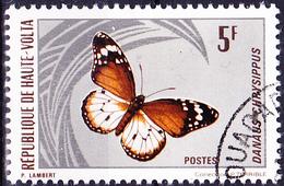 Obervolta Upper Haute - Kleiner Monarch (Danaus Chrysippus) (Mi.Nr.: 338) 1971 - Gest Used Obl - Haute-Volta (1958-1984)