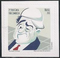 BRAZIL - RONALD GOLIAS (1929-2005), BRAZILIAN HUMORIST 2018 - MNH - Brazil