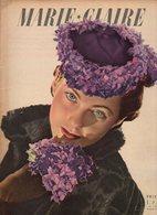 Marie-Claire N°152 Pour être Heureux Vivez Selon Votre Forme - élégance De Paris - Tout Commence Par Un Mariage De 1940 - Livres, BD, Revues