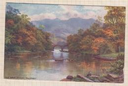 8AK4356 OLD WEIR BRIDGE KILLARNEY RAPHAEL TUCK SCANS - Tuck, Raphael