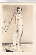 ESTHER WILLIAMS. ACTRESS. CIRCA 1952- BLEUP - Künstler