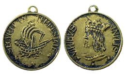 03664 MEDAGLIA MEDAL SECURI IN TEMPESTATE VIRIBUS UNITIS - United Kingdom