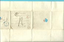 Brief Stempel EGHEZEE (type 18) Met Stempel SR Naar BRUXELLES 24/2/1945 - 1830-1849 (Belgique Indépendante)