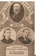 ZO 72/   STICHTERS VAN BOERENBOND     1890 - Cartes Postales