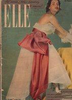 ELLE N°239 Le Tout-Paris Est Entré Dans La Danse - En Vedette, En Soie, En Coton Et...embellissant : Le Blanc De 1950 - Mode