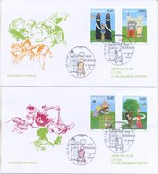 SAN MARINO - FDC VENETIA  2004 - FAVOLE - VIAGGIATE - FDC