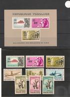 TOGO Année 1964 N° Y/T: 409/418** Et P.A. N) 44 Et Bloc N° 11 Côte: 14,60 € - Togo (1960-...)