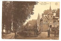 SPA       Avenue   De  Barisart   Red Castle - Spa