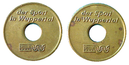 03260 GETTONE TOKEN JETON ADVERTISING VENDING DER SPORT IN WUPPERTAL - Allemagne