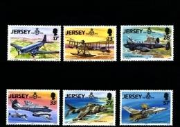JERSEY - 1993  ROYAL AIR FORCE  SET  MINT NH - Jersey