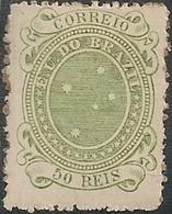 "BRAZIL - ""CRUZEIRO"", 1st ISSUE OF THE REPUBLIC (50 RÉIS) 1890 - MH - Brazil"