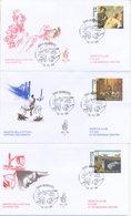 SAN MARINO - FDC VENETIA  2004 - PIAZZETTA - BONICHI - DALI' - VIAGGIATE - FDC