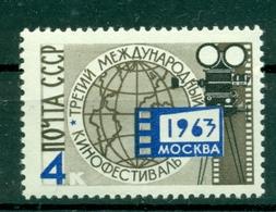 URSS 1963 - Y & T N. 2705 - Festival International Du Film - 1923-1991 USSR