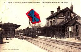 Environs De Boulogne-sur-Mer - PONT-de-BRIQUES - La Gare - Francia