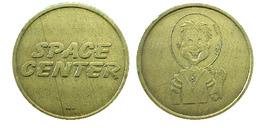 04033 GETTONE TOKEN JETONAMUSEMENT SPACE CENTER ASTRONAUT SPACEMAN - Casino