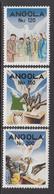 1992 Angola Free Elections Complete Set Of 3  MNH - Angola