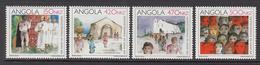 1992 Angola Evangelisation Missionary Church  Complete Set Of 3  MNH - Angola