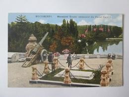 Bucuresti/Bucharest-The Tomb Of The Unknown Hero,Romanian Unused Postcard From The 20s - Romania