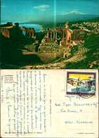 11501a) Cartolina Messina-taormina Teatro Greco 105-ed-sicilia Folklore - Messina