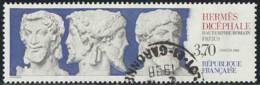 France 1988 Yv. N°2548 - Hermès Dicéphale, Fréjus - Oblitéré - France