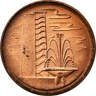 Monnaie, Singapour, Cent, 1981, TTB, Copper Clad Steel, KM:1a - Singapour