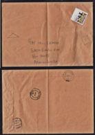 Ca0212 ZAMBIA 2012, Lusaka C5 Envelope To Mwinilunga, Multiple Cancellations, Unknown Lusaka Cancel - Zambie (1965-...)