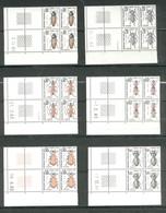 Coins Datés N° 103 à 112 - Neufs XX Sans Charnière Ni Trace - Insectes - Strafport