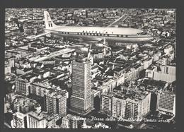 Milano - Piazza Della Repubblica - Veduta Aerea - Alitalia Airplane / Avion / Vliegtuig / Aereo - Milano (Milan)