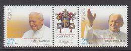 2003 Angola Pope John Paul II  Complete Set Of 2 MNH - Angola