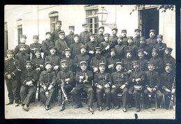Cpa Carte Photo Officiers  ... Médaillés (3)   YN52 - Croix-Rouge