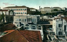BEYROUTH  Caserne Et Hôpital  Belle Chromolitho - Liban