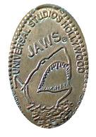 04577 GETTONE TOKEN JETON ADVERTISING MOVIE PUB UNIVERSAL STUDIOS HOLLYWOOD LO SQUALO THE SHARK - Elongated Coins