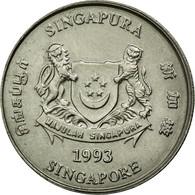 Monnaie, Singapour, 20 Cents, 1993, Singapore Mint, TTB, Copper-nickel, KM:101 - Singapour