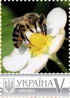 Ukraine 2017, Insects, Bees, Beekeeping, Honey, 1v - Ukraine