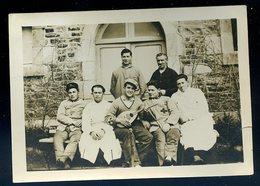 Photo Originale Hôpital Militaire De Dinan Avril 1934 (ref Verso) (1)  YN52 - War, Military