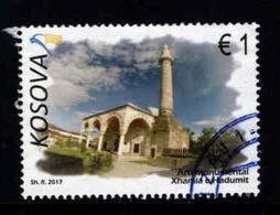 Kosovo, Yv 256 Uit Blok Jaar 2017, Hoge Waarde,  Gestempel - Kosovo