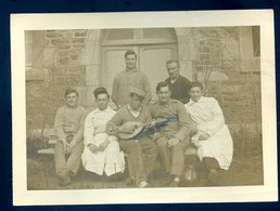 Photo Originale Hôpital Militaire De Dinan Avril 1934 (ref Verso) (2)  YN52 - War, Military