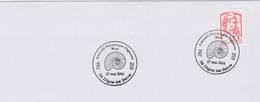 Archéologie : Digne Les Bains (Alpes Hte Provence) 50 Ans Amicale Philatélique (17 Mai 2014) (ammonite) - Archaeology