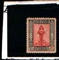 90253) LIBIA- 10 C.-Serie Pittorica, Senza Filigrana, Dentellati 11 - 1926-MNH** DENT 11 - Libia