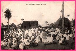 A.O.F. - Sénégal - Fête De La Korité - Cérémonie - Animée - Photo FORTIER - Sénégal