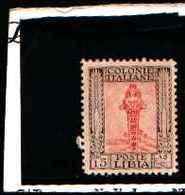 90254) LIBIA- 15 C.-Serie Pittorica, Senza Filigrana, Dentellati 11 - 1926-MNH** DENT 11 - Libia