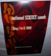Carte Postale - National Science Week (ampoule) - Publicité