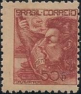 "BRAZIL - DEFINITIVES ""NETINHA"" (50000 RÉIS, RED, ARMED FORCES) 1942 - MNH - Brazil"