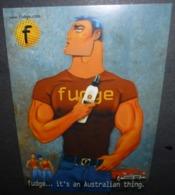 Carte Postale - Fudge... It's An Australian Thing. (cosmétique) - Werbepostkarten