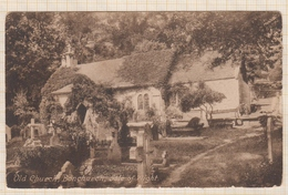 8AK4374 OLD CHURCH BONCHURCH ISLE OF WIGHT  2SCANS - Angleterre