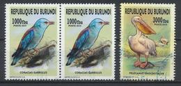 °°° BURUNDI - UCCELLI BIRDS OISEAUX - 2015 °°° - 2010-..: Used