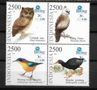 2012 MNH Indonesia Birds, Postfris** - Indonesia